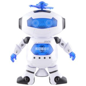 Tickles White Naugty Dancing Robot