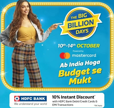 flipkart big billion days 2018 offers